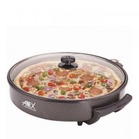 Anex Pizza Pan and Grill (40CM) AG-3064 - Black