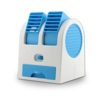 Giftsmine 5V USB Battery Mini Turbine - Dual Purpose Fan - Blue