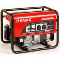 Elemax 3.3 kVA Petrol Generator SH3900EX Recoil Start - Red