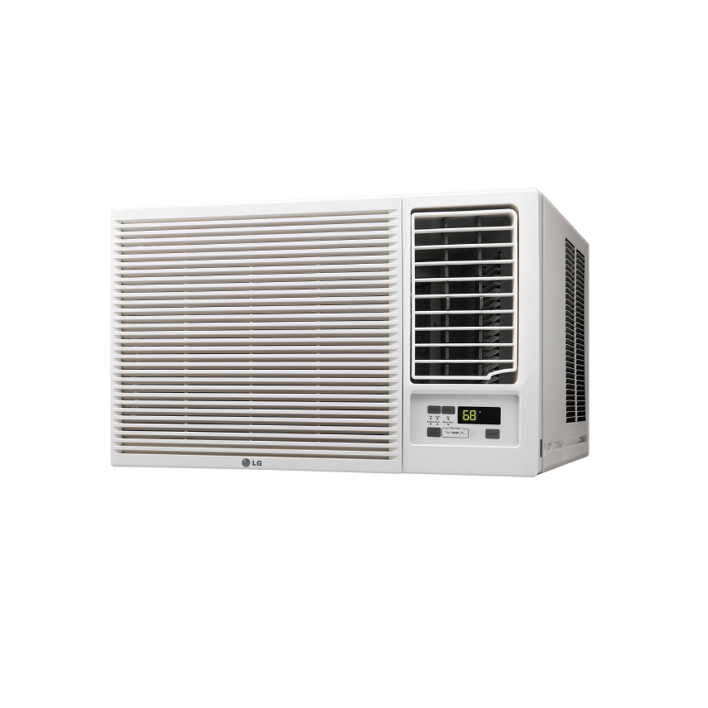 Buy lg window ac 12000 btu with cooling heating lw1216hr for 12000 btu window ac with heat