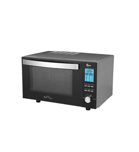 Aurora Microwave Oven 32 Liter Grill Compact Amd905sg In Black Silver