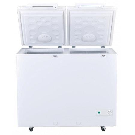 Buy Haier 385 Litre Double Door Deep Freezer Hdf 385