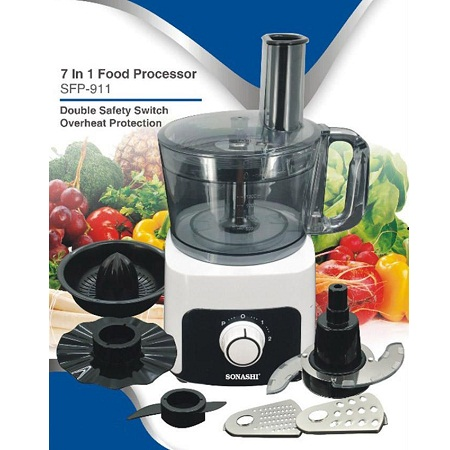 Fine Shredder Food Processor