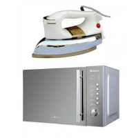 Dawlance Cooking Series Digital Microwave Oven DW-295 ith Free National Deluxe Automatic Dry Iron NI-21 AWTX