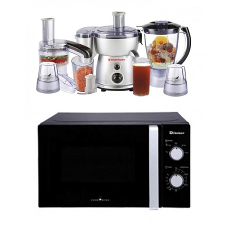 Dawlance Microwave Oven DW-MD 10 With Free 5 In 1 Deluxe Kitchen Chef