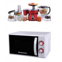 Westpoint Deluxe Microwave Oven WF-822M With Free 5 In 1 Deluxe Kitchen Chef