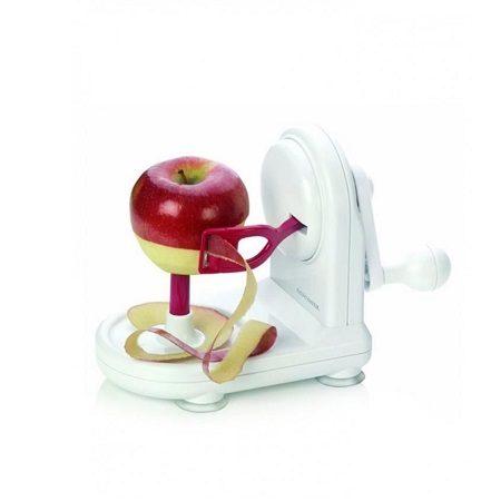 how to use an apple peeler