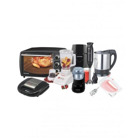 Cambridge 8 in 1 Deluxe Package Kitchen Bundles