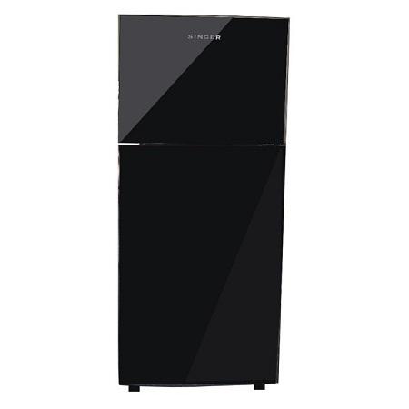 refrigerator glass door. singer 12 cft glass door refrigerator 3400 radiance series in black pearl