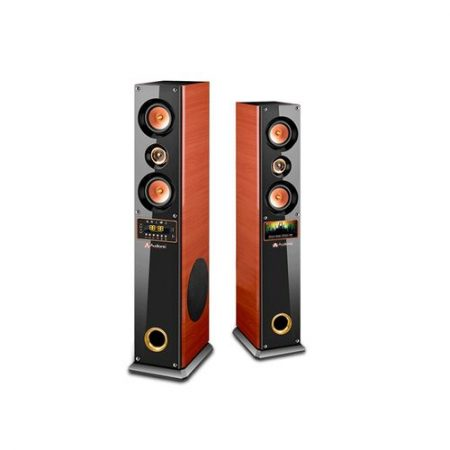 Audionic Cooper 9 Wooden Speakers With Bluetooth Led Display