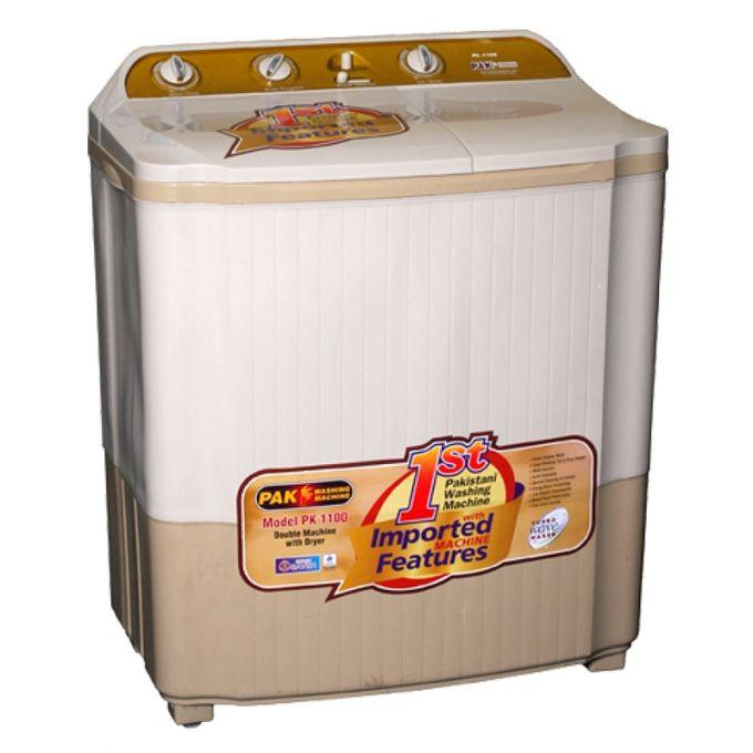 Buy Pak Fan Twin Tub Washing Machine with Dryer PK-1100 ...