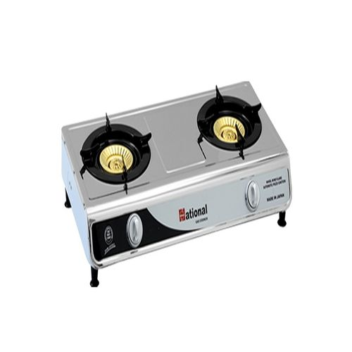 National Two Burner Automatic Table Top Gas Stove