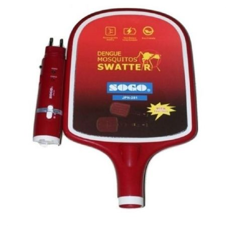 SYC Rechargeable Electric Insect & Mosquito Killer Racket