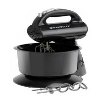 Westpoint Deluxe Hand Mixer with Stand Bowl WF-9503