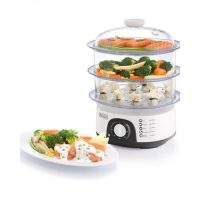 Black + Decker 3 Tier Food Steamer HS -6000-B5