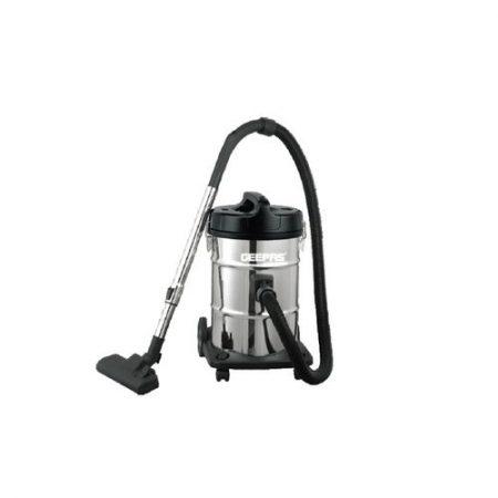 Geepas Stainless Steel Drum Vacuum Cleaner Gvc2597