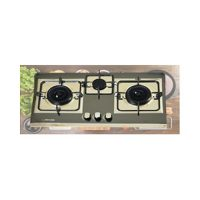 Glamgas Gas Hob GG 05B in Black