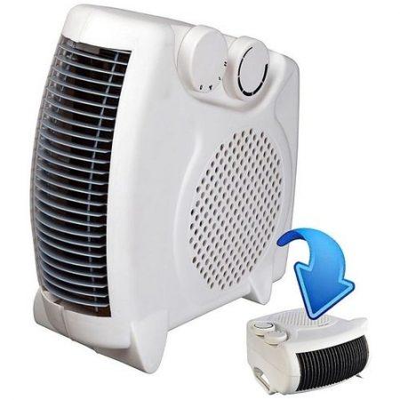 Seco 2000W Portable Electric Fan Heater Hot & Cool