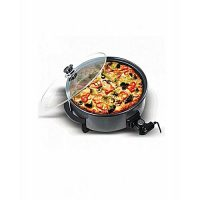 ADI Pizza Pan & Hot Plate Black