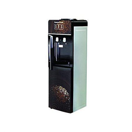Changhong Ruba WDCR66B Water Dispenser with Refrigerator Cabinet Brown