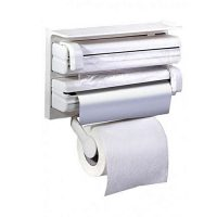 Maxbachat.pk Kitchen Paper Dispenser White
