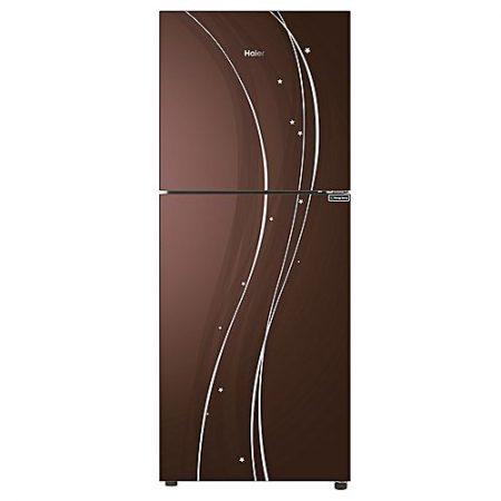 Haier Hrf-276EPC - E-Star Series Top Mount Refrigerator - 246 L - CHOCOLATE