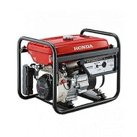 Honda ER2500CX (GAS & PETROL) - Generator - 2.2 KVA - Red (HONDA ATLAS (PVT) LTD WARRANTY