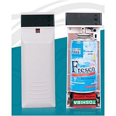 PAPA STREET Automatic Air Freshener Dispenser With Free Fresco Air White 300ml