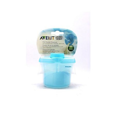 Philips Avent Powder Formula Dispenser & Snack Cup 260ml Blue