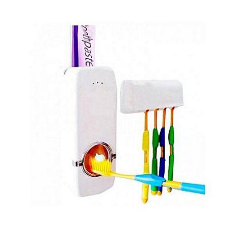 ProtonX New Automatic Toothpaste Dispenser White
