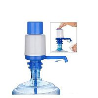 SmartU Manual Water Pump Dispenser For Water Cans Blue & White