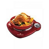 Westpoint Official WF271 Deluxe Hot Plate Red