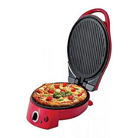 """Westpoint WF3165 Deluxe Pizza Maker 12"""" Red"""