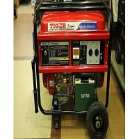 6.5Kva Gasoline Generator Ec6500 100% Copper Red