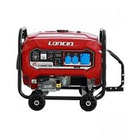 Loncin LC9900DDC Latest 6.5 KW Petrol & Gas Generator with Wheels Kit