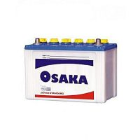 Osaka Batteries S75+ 10 Plates Acid Battery White
