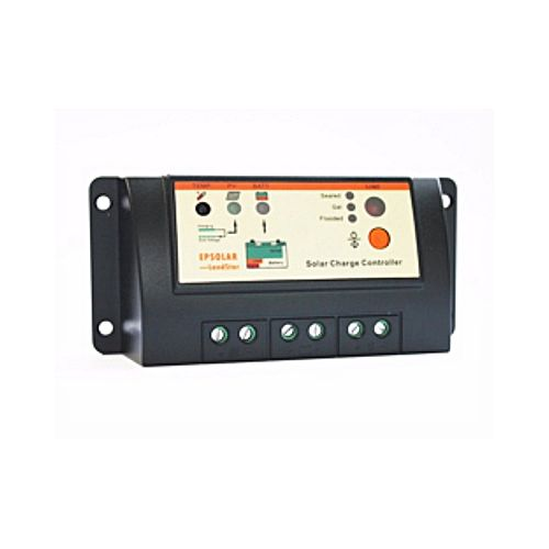 PWM Charge Controller 20 Amp Black