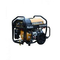RGX 3500E 3.5 KVA Japanese Brand Generator Self Start Petrol & Gas with Gas Kit Yellow & Black