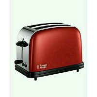 Russell Hobbs Colour 2-Slice Toaster 18951 Red