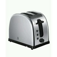Russell Hobbs Legacy 2-Slice Toaster 21290 Polished Stainless Steel Silver
