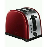 Russell Hobbs Legacy 2-Slice Toaster 21291 Metallic Red