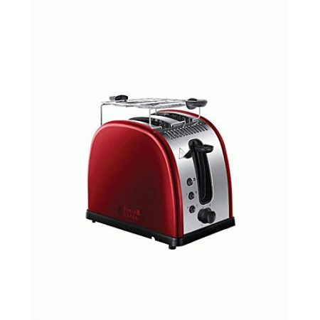 Russell Hobbs Legacy Metallic 2 Slice Toaster 21291 Red