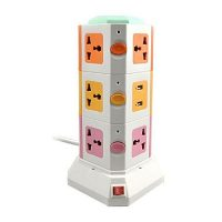sjewellery Vertical Power Sockets Multicolor