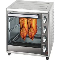 Westpoint Official WF5500 Oven Toaster, Rotisserie with Conviction (55 Liter) Silver