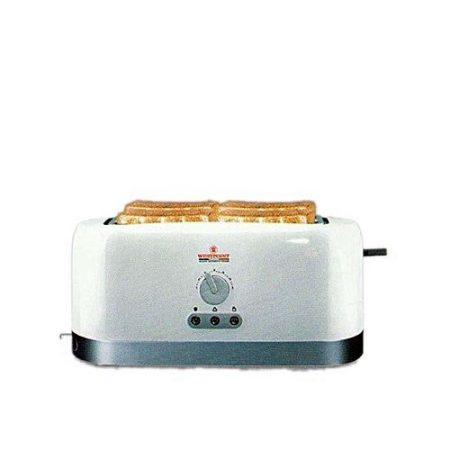 Westpoint WF2528 Toaster Grey & White