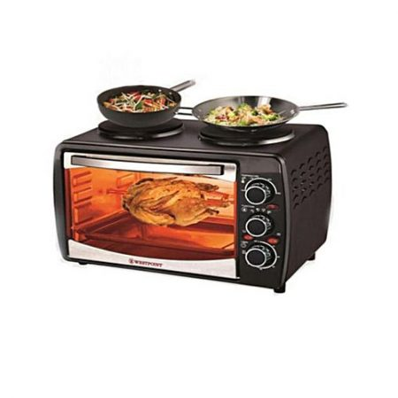 Westpoint WF3000RKH Deluxe Grilling Oven Toaster Black