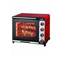 Westpoint WF4700 RKC Convection Rotisserie Oven with Kebab Toaster Grill 1800 Watts Red & Black