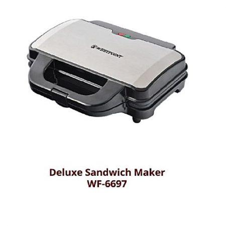 Westpoint WF6697 Sandwich Maker Steel Body