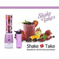 Attaris Communication Shake & N Take 3 2 Bottles Fruit Blender