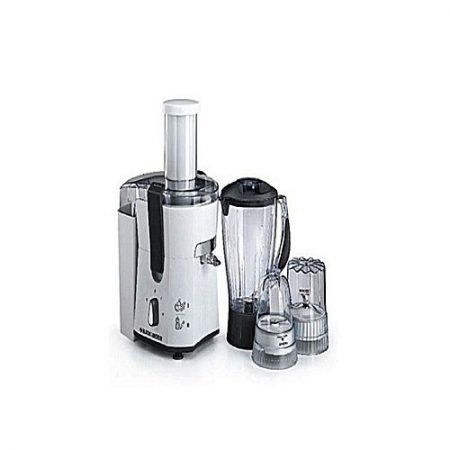 Black + Decker 4 In 1 Juicer, Blender & Grinder JBGM600